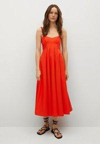Mango - Vestido informal - rojo - 1