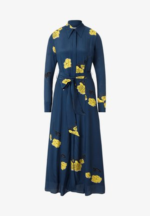 SHIRT DRESS MIDI - Maxi dress - blue