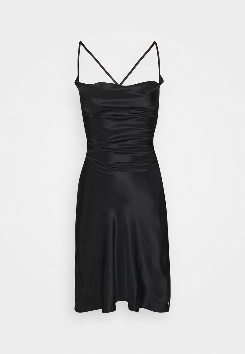 Missguided Tall - COWL CAMI DRESS - Cocktail dress / Party dress - black