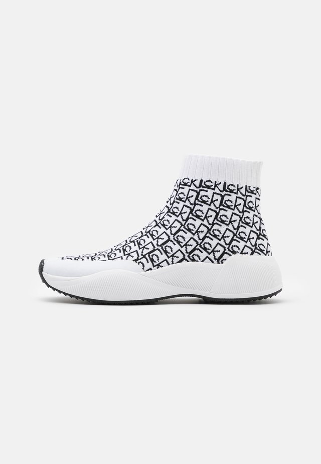 BEAUDAN - Sneakers hoog - white/black