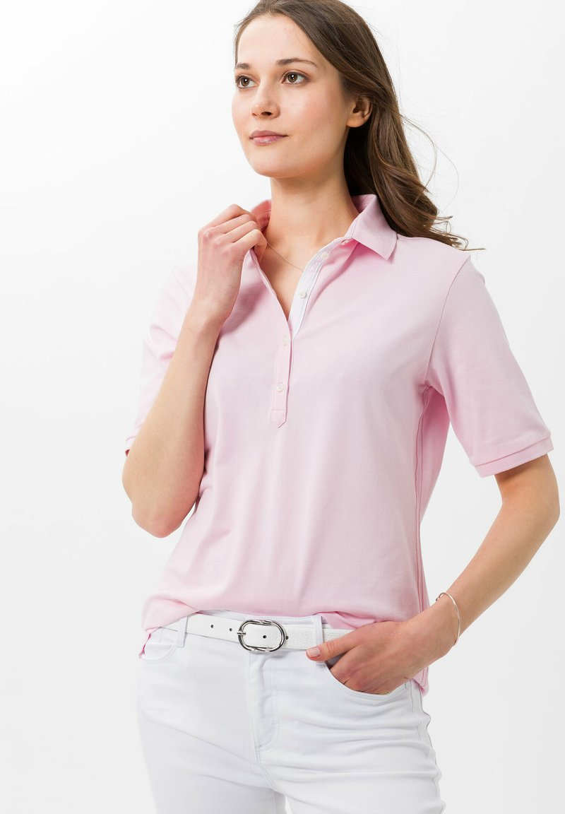 BRAX - STYLE CLEO - Polo shirt - rose