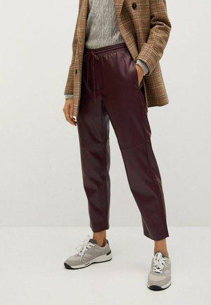APPLE - Pantalon classique - granátová