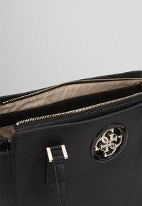 Guess - OPEN ROAD LUXURY SATCHEL - Handbag - black - 5