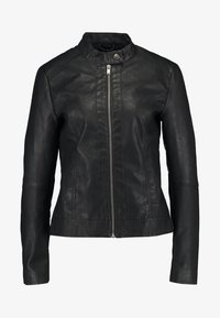 JDY - JDYDALLAS JACKET - Faux leather jacket - black - 5