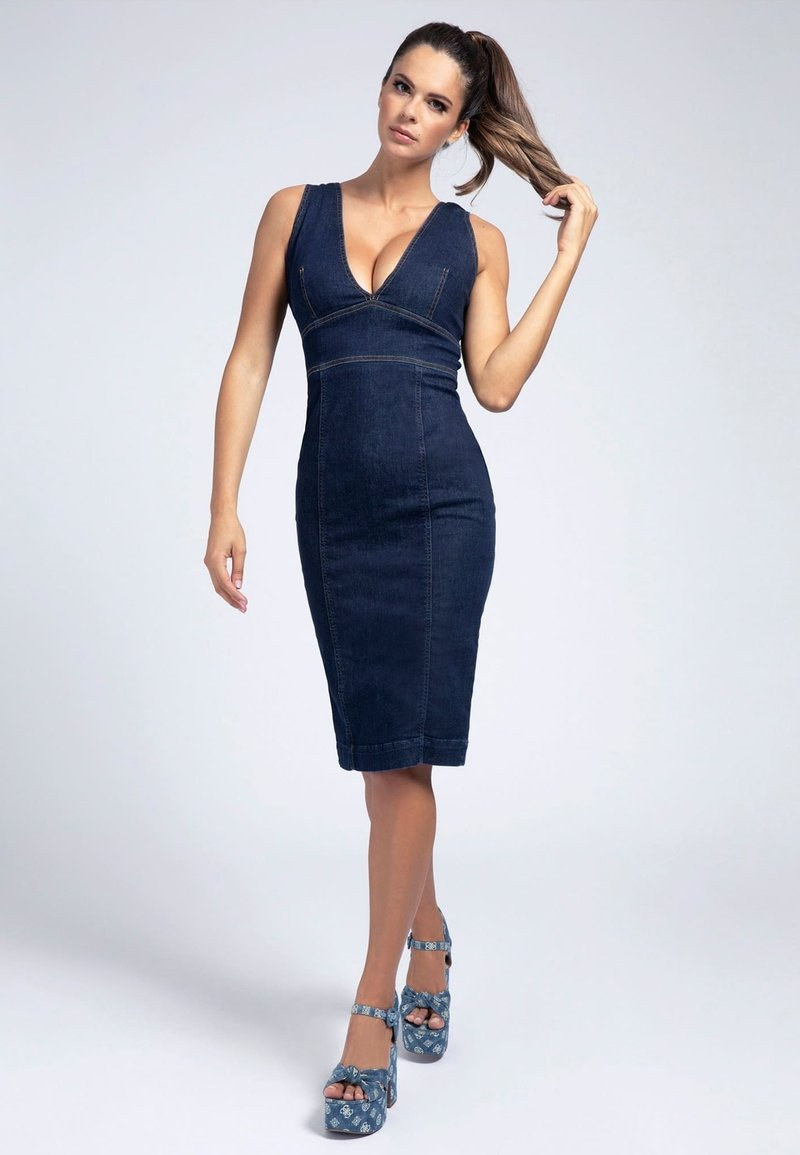 Guess - Denim dress - blau
