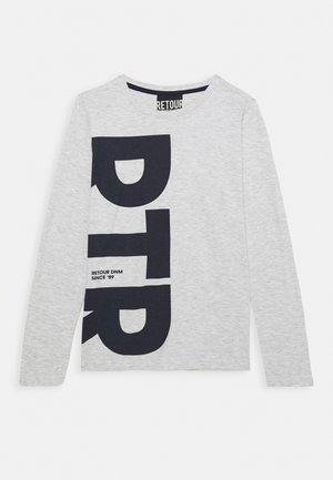 DENNIS - Long sleeved top - cool grey melange