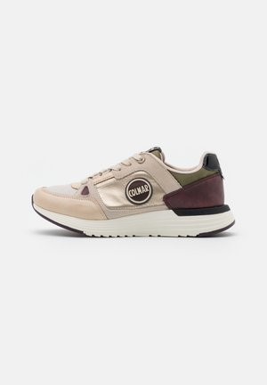 SUPREME QUEEN - Zapatillas - light gold/military green/bordeaux