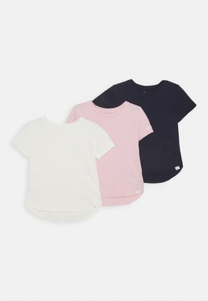 GIRLS BASIC 3 PACk - T-shirt z nadrukiem - multi