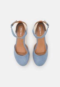 Anna Field - COMFORT - Plateaupumps - light blue - 5