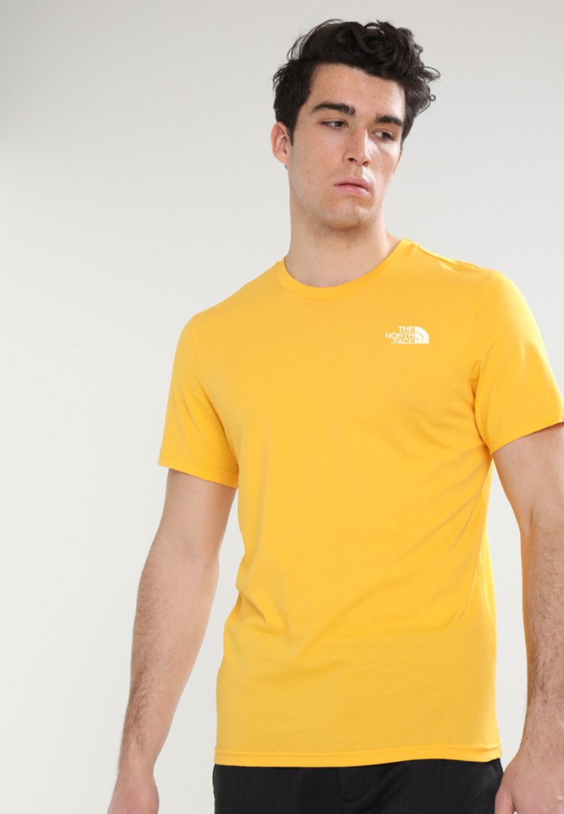 The North Face - MENS SIMPLE DOME TEE - T-shirt basic - yellow