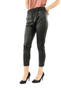 PLEASE - Trousers - noir - 2