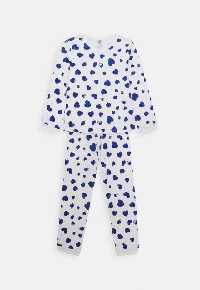 LIKILOU PYJAMA - Pyjama - marshmallow/blue