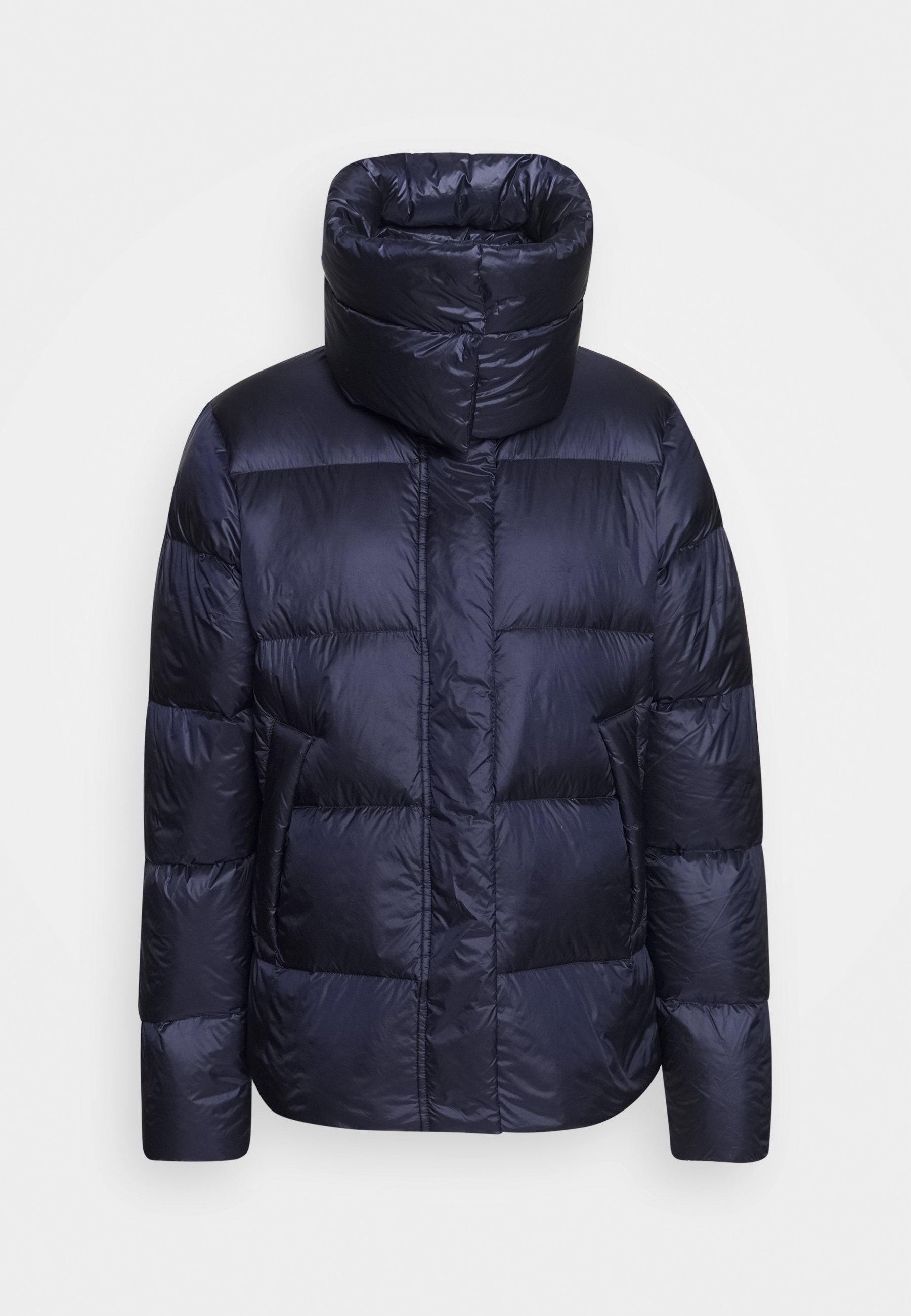 ADENAU Gewatteerde jas dark blue