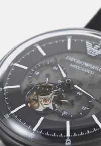 Emporio Armani - LUIGI - Watch - black - 4