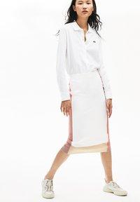 Lacoste - Button-down blouse - white - 1