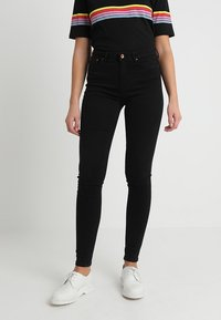 ONLY - ONLPAOLA - Vaqueros pitillo - black - 0