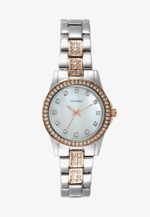 LADIES WATCH ROUND - Klocka - silver-coloured