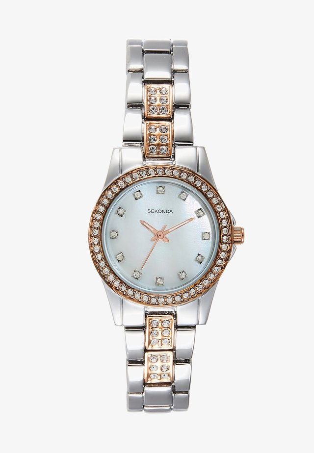 LADIES WATCH ROUND - Orologio - silver-coloured