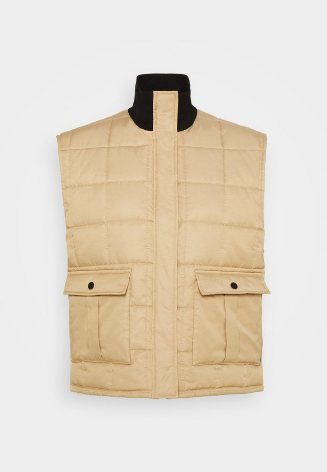 DUVET DREAM VIBE - Bodywarmer - warm beige