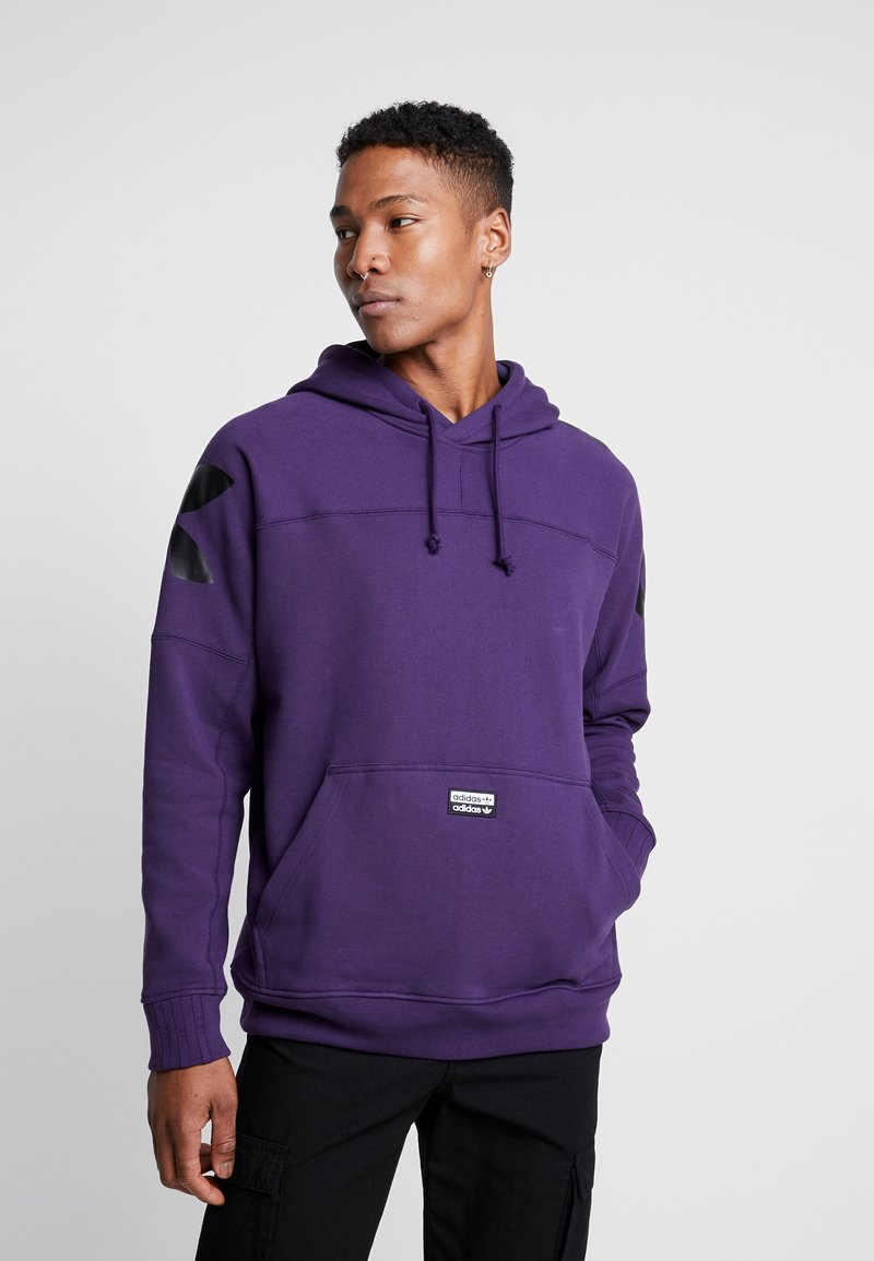 adidas Originals - REVEAL YOUR VOICE LITHOODY - Hættetrøjer - legend purple