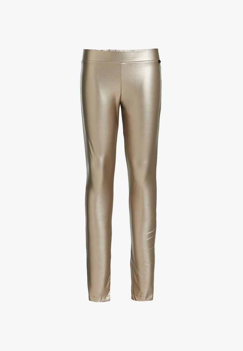 WE Fashion - Leggings - Trousers - gold
