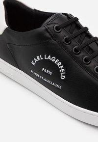 KARL LAGERFELD - KUPSOLE II MAISON LACE - Trainers - black - 4