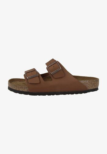 Slippers - ginger brown