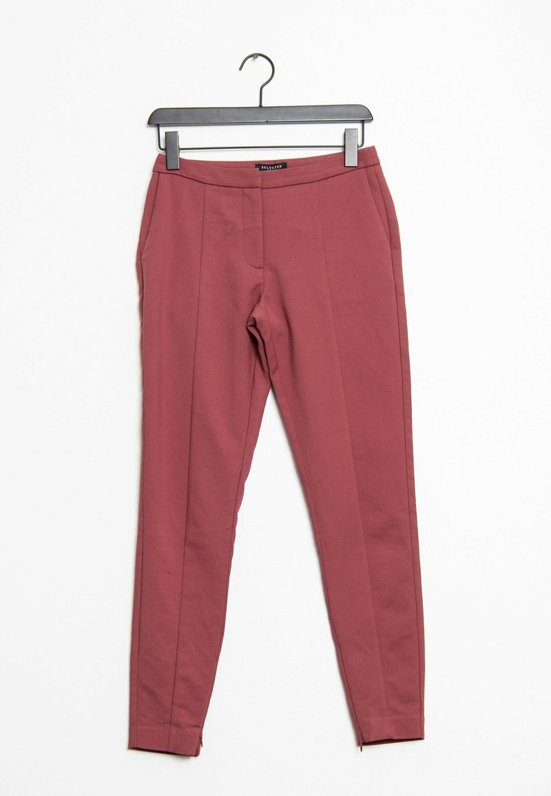 Selected Femme - Chinos - pink