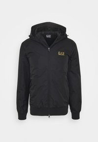 EA7 Emporio Armani - GIUBBOTTO - Light jacket - black / gold - 0