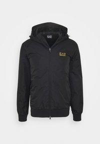 GIUBBOTTO - Light jacket - black / gold