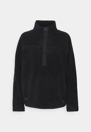 HEARTH  - Fleece jumper - true black
