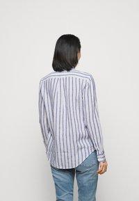Polo Ralph Lauren - STRIPE LONG SLEEVE - Button-down blouse - white/blue - 2