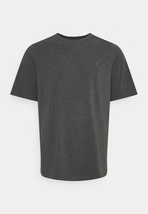STRETCH TEE - Print T-shirt - black heather
