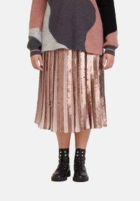 Fiorella Rubino - MIT PAILLETTEN - A-line skirt - rosa - 0