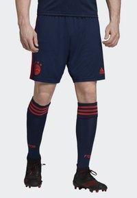 adidas Performance - FC BAYERN THIRD SHORTS - Short de sport - blue - 0
