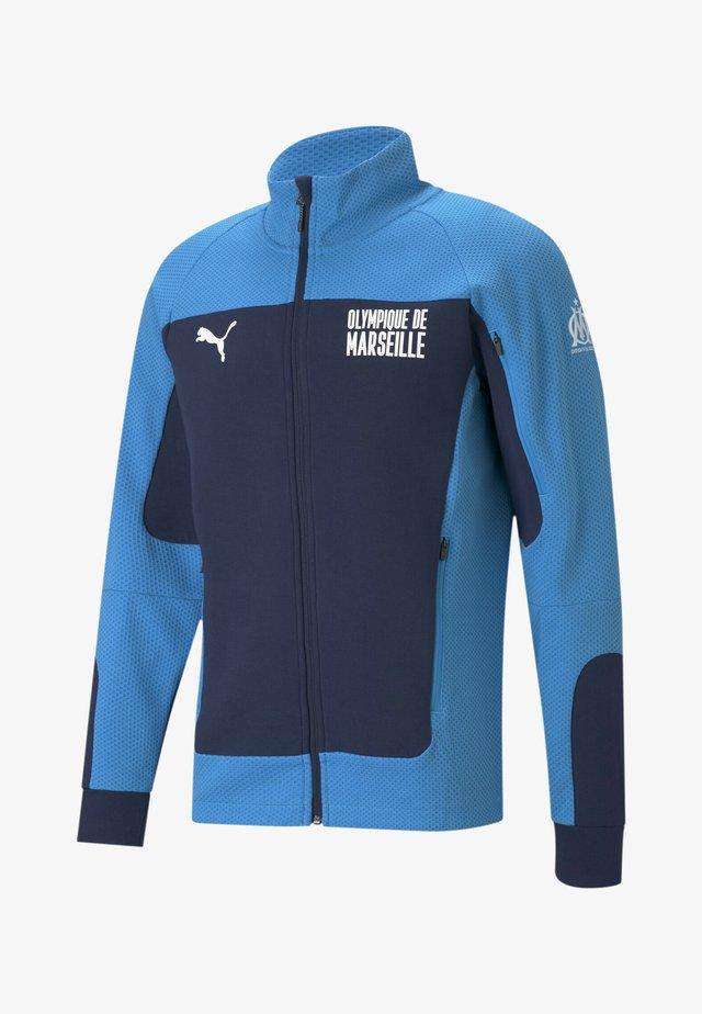 Training jacket - peacoat bleu azur