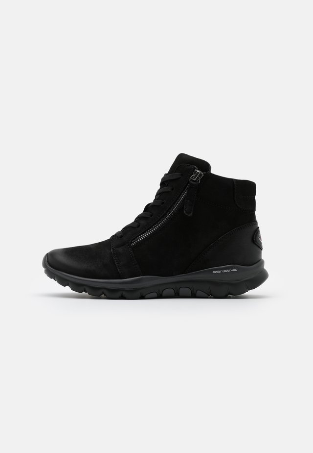 ROLLING SOFT - Ankle boots - schwarz