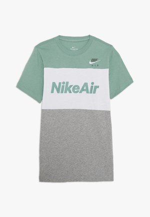 AIR TEE - T-shirt print - silver pine/white/grey heather