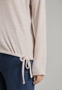 TOM TAILOR DENIM - Jumper - cozy beige melange - 3