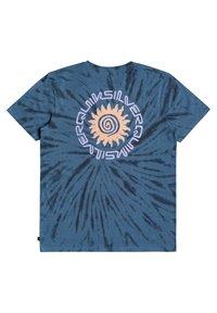 Quiksilver - SLOW LIGHT - Print T-shirt - captains blue - 3