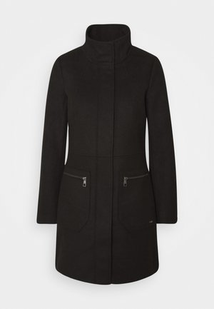 Short coat - deep black