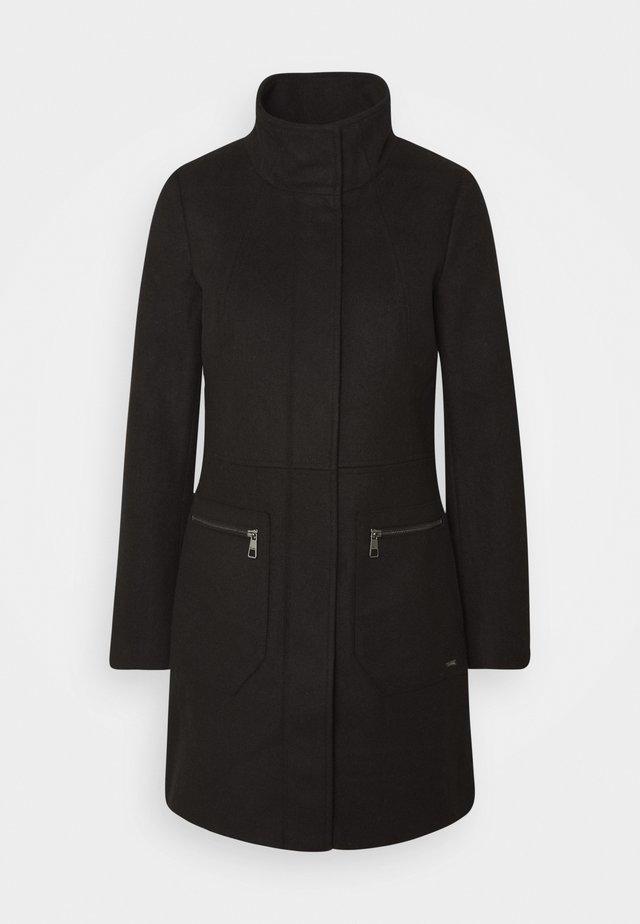 Short coat - deep black