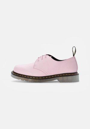 ICED - Nauhakengät - pale pink smooth