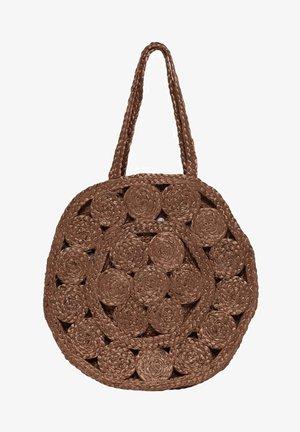 Handbag - brown patina