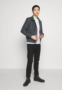 s.Oliver - Summer jacket - grey/black - 1