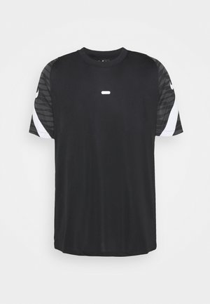 DRY STRIKE 21 - Camiseta estampada - black/anthracite/white