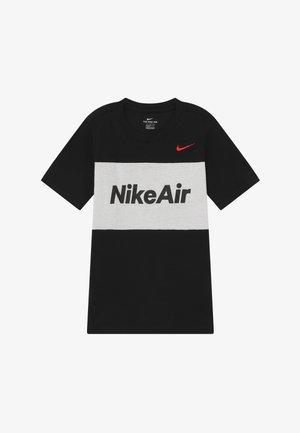 AIR TEE - Camiseta estampada - black/white