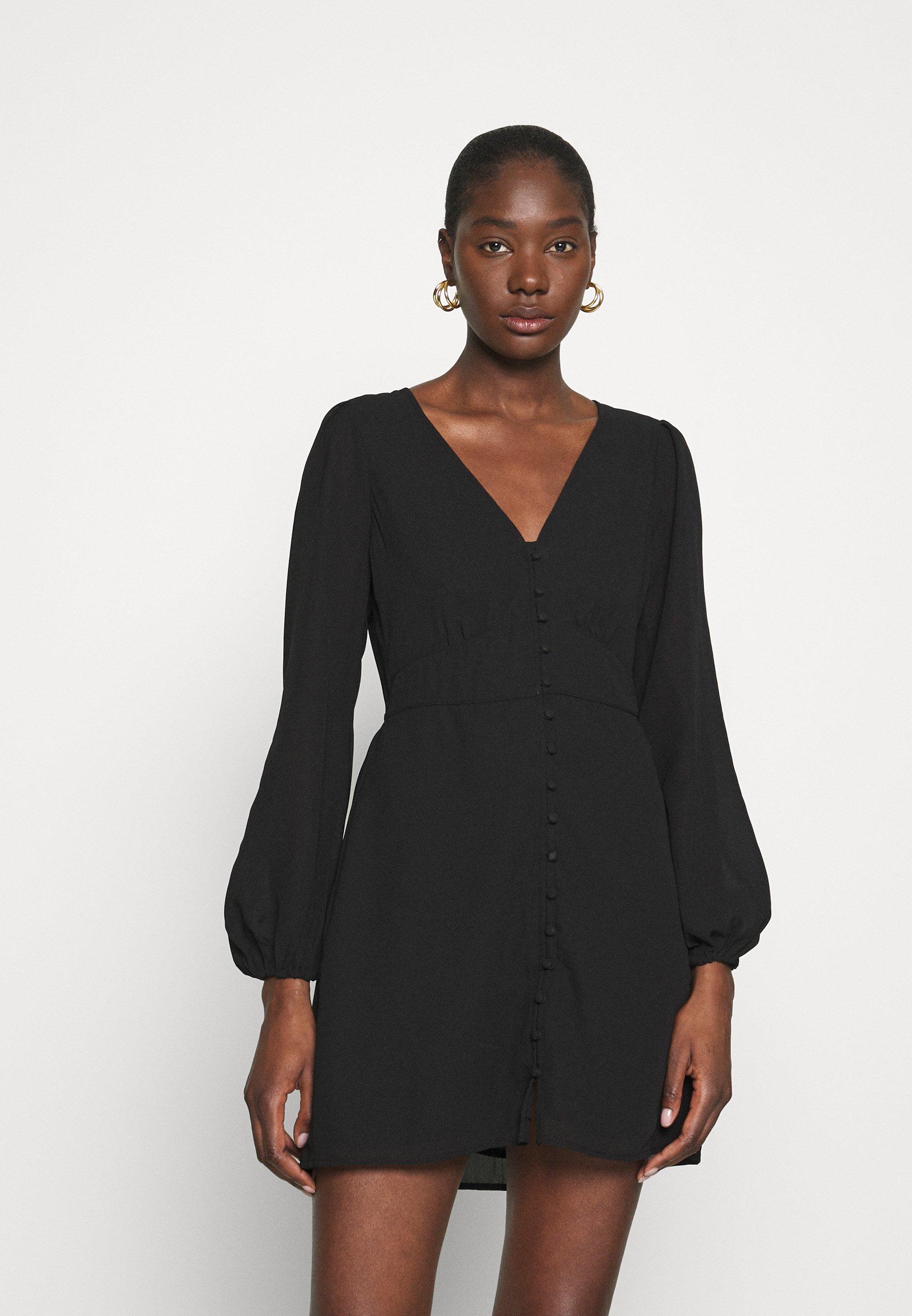 Mujer DRAMA BUTTON MINIDRESS - Vestido informal