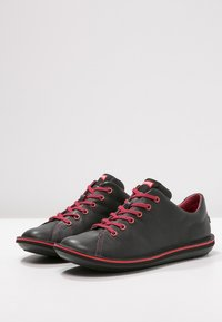 Camper - BEETLE - Zapatos con cordones - black/red - 2