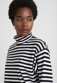 Carhartt WIP - HALDON - Long sleeved top - black/white/cardinal - 4